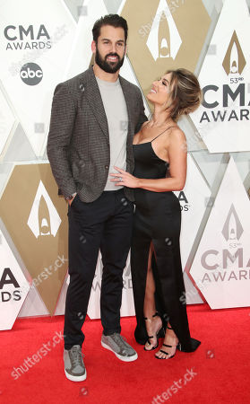 Stock Picture of Eric Decker and Jessie James Decker