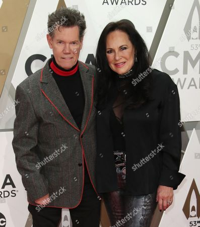 Randy Travis and Mary Davis