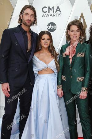 Stock Image of Ryan Hurd, Maren Morris and Brandi Carlile