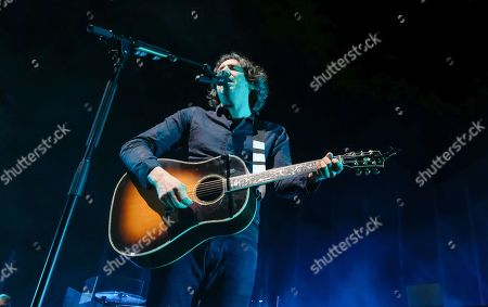 Stock Photo of Snow Patrol - Gary Lightbody