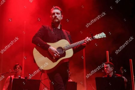 Editorial image of Snow Patrol in concert at the Motorpoint Arena, Cardiff, Wales - 13 Nov 2019