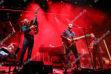 Stock Image of Snow Patrol - Gary Lightbody and Nathan Connolly