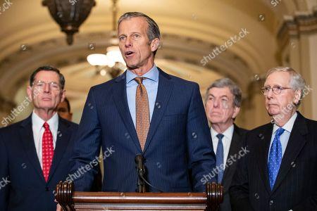 Editorial photo of US Senate Majority and Minority Party Luncheon Statements, Washington, USA - 13 Nov 2019