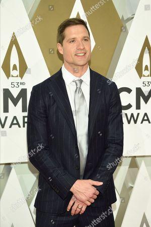 Walker Hayes arrives at the 53rd annual CMA Awards at Bridgestone Arena, in Nashville, Tenn