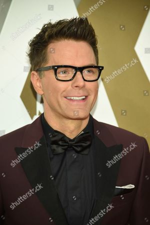 Bobby Bones arrives at the 53rd annual CMA Awards at Bridgestone Arena, in Nashville, Tenn