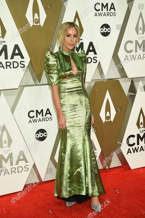 Stock Picture of Mary Lawless Lee arrives at the 53rd annual CMA Awards at Bridgestone Arena, in Nashville, Tenn