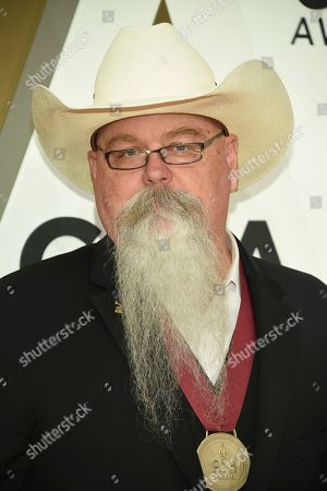 Stock Picture of Vance Powell arrives at the 53rd annual CMA Awards at Bridgestone Arena, in Nashville, Tenn