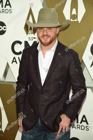 Cody Johnson arrives at the 53rd annual CMA Awards at Bridgestone Arena, in Nashville, Tenn