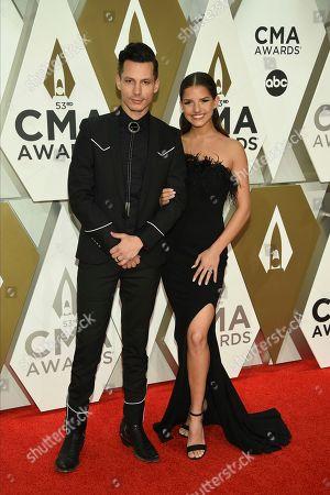 Editorial photo of 53rd Annual CMA Awards - Arrivals, Nashville, USA - 13 Nov 2019
