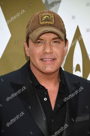 Stock Photo of Rodney Atkins arrives at the 53rd annual CMA Awards at Bridgestone Arena, in Nashville, Tenn