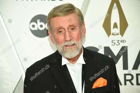 Stock Picture of Ray Stevens arrives at the 53rd annual CMA Awards at Bridgestone Arena, in Nashville, Tenn