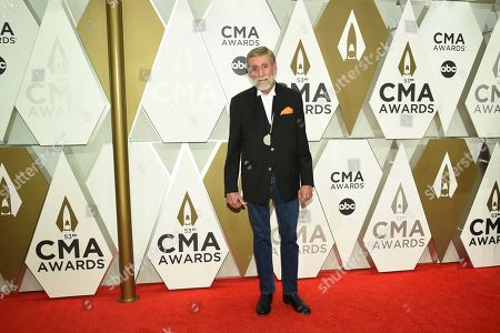 Stock Image of Ray Stevens arrives at the 53rd annual CMA Awards at Bridgestone Arena, in Nashville, Tenn