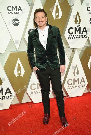 Morgan Wallen arrives at the 53rd annual CMA Awards at Bridgestone Arena, in Nashville, Tenn