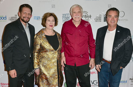 Skip Margerum, Diane Baker, William Grefe and Jim Norton attend the Festival
