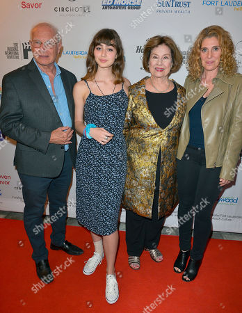 Foster Hirsch, Sylvia Hartman, Diane Baker and Lillie Thom attend the Festival