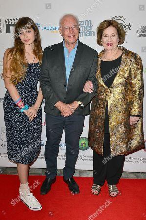 Sylvia Hartman, Foster Hirsch and Diane Baker attend the Festival