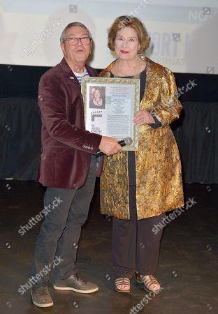Gregory von Hausch and Diane Baker