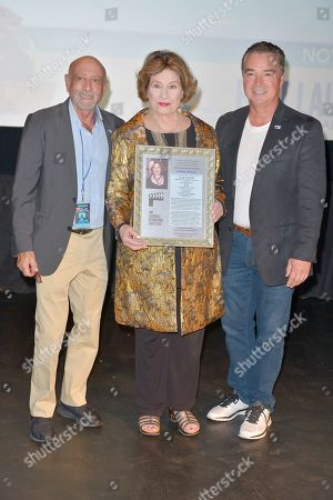 Scott Bennett, Diane Baker and Jim Norton