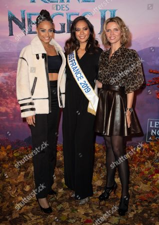 Editorial image of 'Frozen 2' film photocall, Paris, France - 13 Nov 2019