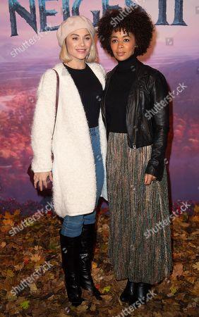 Joy Esther and Aurelie Konate