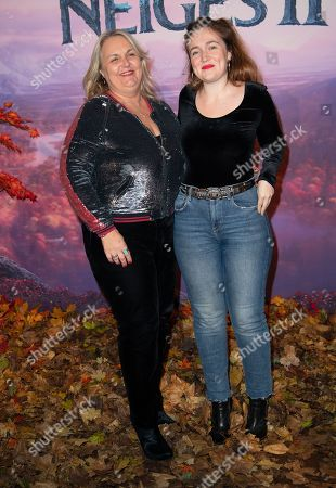 Stock Picture of Valerie Damidot and Roxanne Damidot