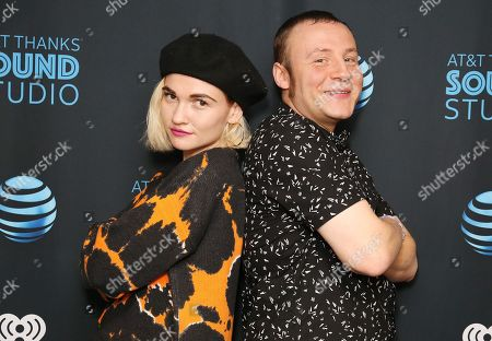 Stock Photo of Misterwives - Mandy Lee and Jesse Blum