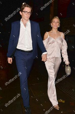 Stock Photo of Caspar Jopling and Ellie Goulding