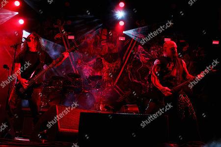 Tom Araya and Kerry King, (Slayer)