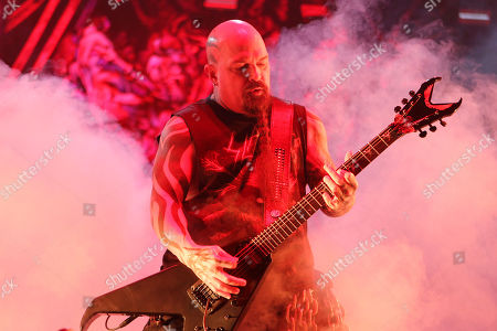 Editorial photo of Slayer performs their Final Tour with Ministry and Primus at Madison Square Garden, New York, USA - 10 Nov 2019