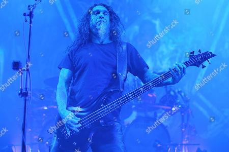 Stock Photo of Tom Araya (Slayer)