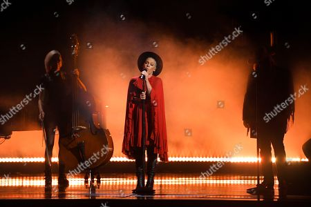 "Pink, Chris Stapleton. Pink, center, and Chris Stapleton, right, perform ""Love Me Anyway""at the 53rd annual CMA Awards at Bridgestone Arena, in Nashville, Tenn"