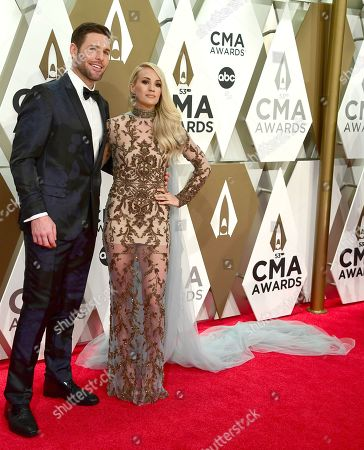 Stock Picture of Carrie Underwood, Mike Fisher