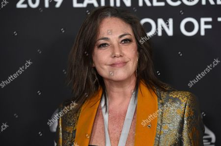 Stock Photo of Claudia Brant arrives at the Latin Recording Academy Person of the Year gala honoring Juanes at the MGM Conference Center, in Las Vegas