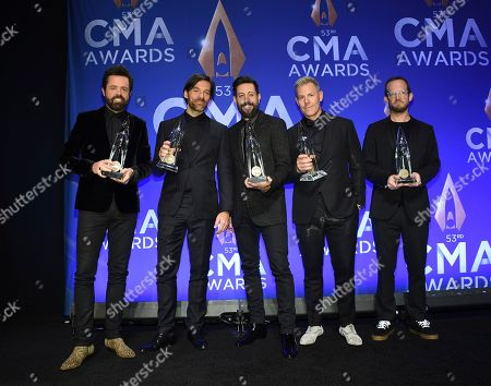 Editorial image of 53rd Annual CMA Awards - Press Room, Nashville, USA - 13 Nov 2019