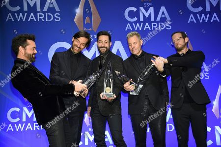 Editorial picture of 53rd Annual CMA Awards - Press Room, Nashville, USA - 13 Nov 2019