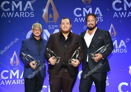 Editorial photo of 53rd Annual CMA Awards - Press Room, Nashville, USA - 13 Nov 2019