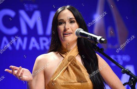 Editorial picture of 53rd Annual CMA Awards - Press Room, Nashville, USA - 13 Nov 2019