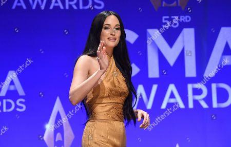 Editorial image of 53rd Annual CMA Awards - Press Room, Nashville, USA - 13 Nov 2019