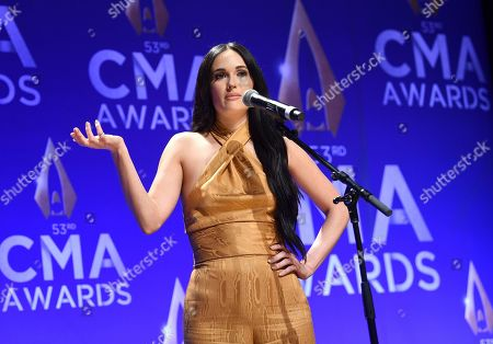Editorial photo of 53rd Annual CMA Awards - Press Room, Nashville, USA - 13 Nov 2019
