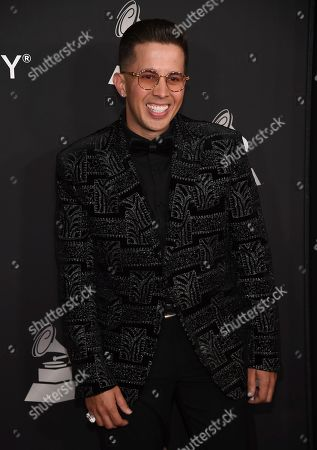 De La Ghetto arrives at the Latin Recording Academy Person of the Year gala honoring Juanes at the MGM Conference Center, in Las Vegas