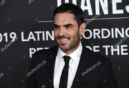 Lincoln Palomeque arrives at the Latin Recording Academy Person of the Year gala honoring Juanes at the MGM Conference Center, in Las Vegas