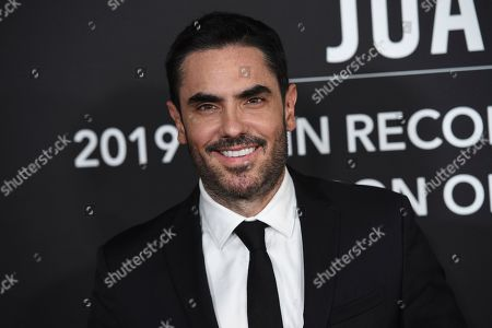 Stock Picture of Lincoln Palomeque arrives at the Latin Recording Academy Person of the Year gala honoring Juanes at the MGM Conference Center, in Las Vegas