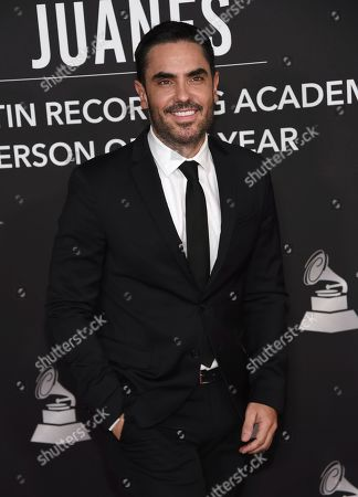 Stock Photo of Lincoln Palomeque arrives at the Latin Recording Academy Person of the Year gala honoring Juanes at the MGM Conference Center, in Las Vegas