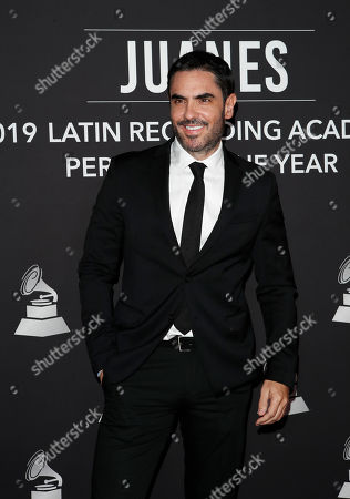 Lincoln Palomeque arrives for the 2019 Latin Recording Academy Person of the Year gala at the MGM Grand Conference Center in Las Vegas, Nevada, USA, 13 November 2019. The event precedes the 20th annual Latin Grammy Awards that recognize artistic and/or technical achievement, not sales figures or chart positions, and the winners are determined by the votes of their peers - the qualified voting members of the Latin Recording Academy.