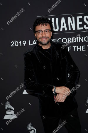 Andres Cepeda arrives for the 2019 Latin Recording Academy Person of the Year gala at the MGM Grand Conference Center in Las Vegas, Nevada, USA, 13 November 2019. The event precedes the 20th annual Latin Grammy Awards that recognize artistic and/or technical achievement, not sales figures or chart positions, and the winners are determined by the votes of their peers - the qualified voting members of the Latin Recording Academy.