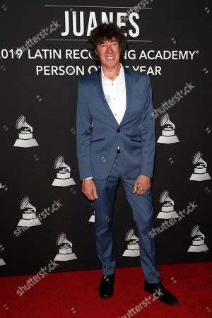 Stock Photo of Roberto Musso arrives for the 2019 Latin Recording Academy Person of the Year gala at the MGM Grand Conference Center in Las Vegas, Nevada, USA, 13 November 2019. The event precedes the 20th annual Latin Grammy Awards that recognize artistic and/or technical achievement, not sales figures or chart positions, and the winners are determined by the votes of their peers - the qualified voting members of the Latin Recording Academy.