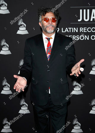 Argentine pianist Fito Paez arrives for the 2019 Latin Recording Academy Person of the Year gala at the MGM Grand Conference Center in Las Vegas, Nevada, USA, 13 November 2019. The event precedes the 20th annual Latin Grammy Awards that recognize artistic and/or technical achievement, not sales figures or chart positions, and the winners are determined by the votes of their peers - the qualified voting members of the Latin Recording Academy.
