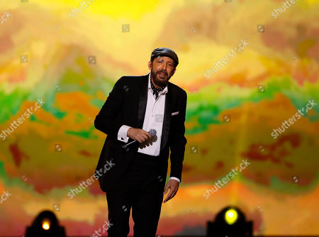 Juan Luis Guerra performs during the 2019 Latin Recording Academy Person of the Year gala at the MGM Grand Conference Center in Las Vegas, Nevada, USA, 13 November 2019. The event precedes the 20th annual Latin Grammy Awards that recognize artistic and/or technical achievement, not sales figures or chart positions, and the winners are determined by the votes of their peers - the qualified voting members of the Latin Recording Academy.