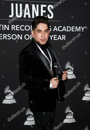 Editorial picture of 2019 Latin Recording Academy Person of the Year, Las Vegas, USA - 13 Nov 2019