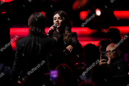Paula Fernandes performs during the 2019 Latin Recording Academy Person of the Year gala at the MGM Grand Conference Center in Las Vegas, Nevada, USA, 13 November 2019. The event precedes the 20th annual Latin Grammy Awards that recognize artistic and/or technical achievement, not sales figures or chart positions, and the winners are determined by the votes of their peers - the qualified voting members of the Latin Recording Academy.